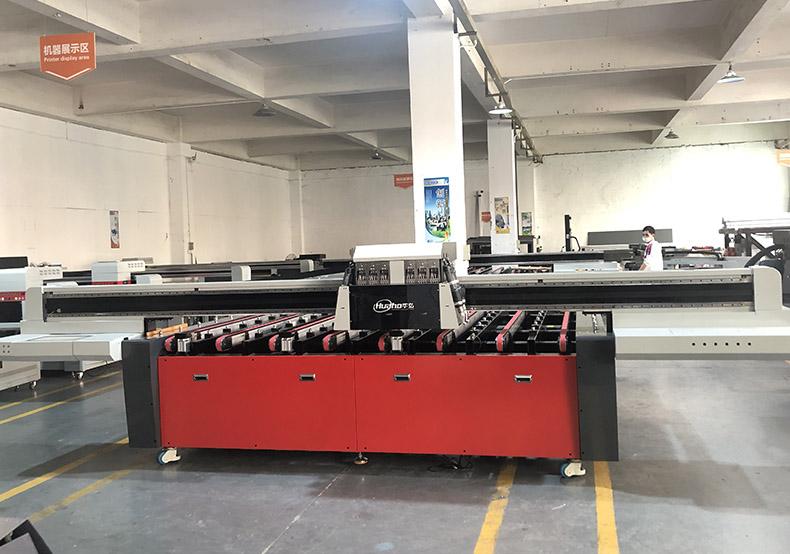 钢化玻璃彩釉打印机